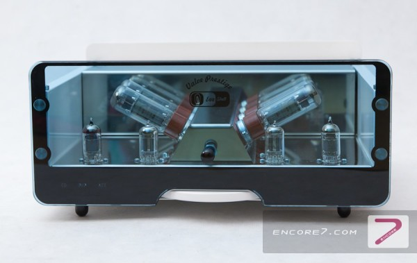 Egg-Shell Tube Audio Amplifier