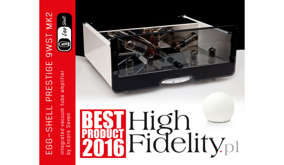 Best Product 2016 - EGG-SHELL vacuum tube amplifier