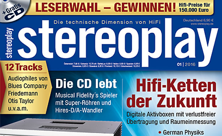 Prestige 12WKT reviewed in Stereo Play (Germany)