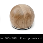 Spherical remote control for vacuum tube amplifiers EGG-SHELL (wooden)