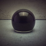 Spherical remote control for Egg-Shell Prestige series valve amplifiers