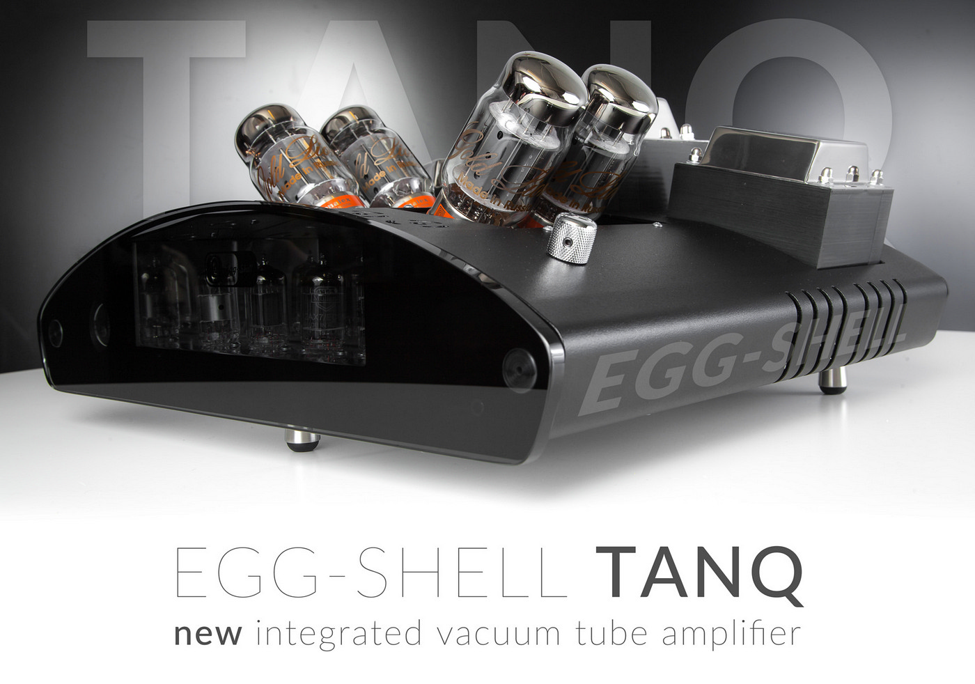 EGG-SHELL TANQ - integrated vacuum tube amplifier high-class