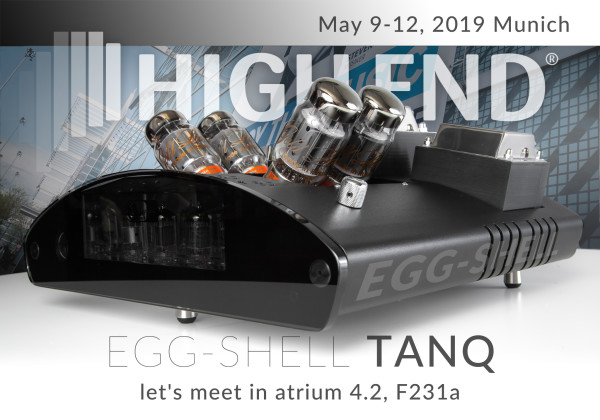 EGG-SHELL amplifiers during High-End Munich